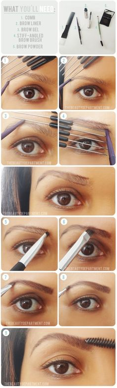 (thebeautydepartment)'s Brow Guide