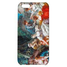 The Bird Catchers François Boucher rococo scene iPhone 5C Cases