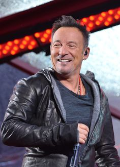 Bruce Springsteen Photos: Times Square Goes (Red) with a Surprise World AIDS Day Concert