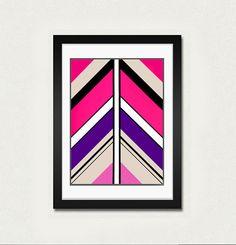 Abstract art print.