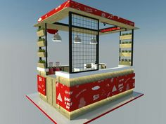 Mommilk express stand booth