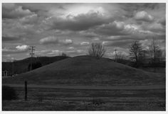 Burial mound in Pleasants county, West Virginia
