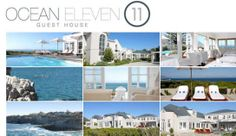 Ocean Eleven is an olde worlde, cape cod, colonial style guesthouse, with all encompassing sea-views of the bay, situated on the cliffs of Hermanus. Oceans 11, Eleven 11, Wedding Function, Feeling Alone, Cape Cod, Favorite Things, Mansions, House Styles, Cod
