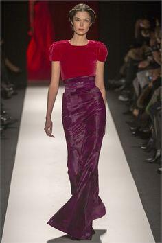Sfilata Carolina Herrera New York - Collezioni Autunno Inverno 2013-14 - Vogue