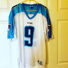 Medium Steve McNair Titan Silk Jersey Adult Medium Steve Mcnair Jersey Champion Tops