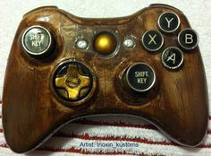 steampunk xbox controller--I might even play!