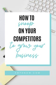 Without small business competitor research you are missing out on key insight on how your business can best market to your target audience. Here's the steps you should take to learn about your business' competitors. Target Audience, Small Business Marketing, Marketing Strategies, Growing Your Business, Gain, Insight, Key, Learning, Unique Key