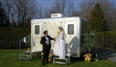 Elite mobile restrooms are perfect for any outdoor party or wedding ceremony. We provide upscale comfort and privacy to you and your invited guests where traditional portable plastic toilet huts fall short.