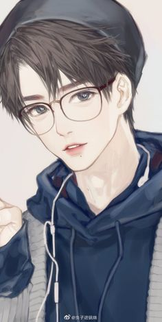 """Romance story """"Indulgent Husband and Sweet Wife"""". Betrothed when still in womb by parents, Ai Changhuan is forced to marry … Garçon Anime Hot, Cool Anime Guys, Handsome Anime Guys, Cute Anime Boy, Anime Art Girl, Anime Love, Manga Anime, Fanarts Anime, Anime Characters"""