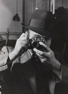 James Jarché with his Leica, 8 February 1938, Daily Herald Archive, National Media Museum Collection / SSPL
