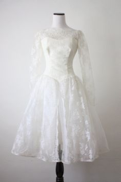 50s wedding dress 1950s white lace wedding dress by 1919vintage
