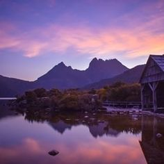 It's a view that we could gaze at forever. looking out across Dove Lake onto Cradle Mountain. This iconic land mass in… Come And See, See It, Tasmania, North West, Trail, Around The Worlds, Mountain, Skyline, Island