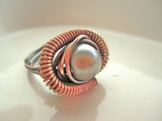 Sage Green Mechanical ring by BrookeAlene on Etsy, $19.00