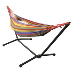 Sunscape Double Hammock with Frame   Stratco