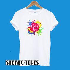 Festival T Shirts, Direct To Garment Printer, Cool Shirts, Holi, Shirt Style, Screen Printing, Digital Prints, Unisex, Mens Tops