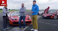 Ferrari 458 Speciale Vs McLaren 650S Vs Nissan GT-R Sounds Like A Proper Drag Race #Drag_Racing #Ferrari