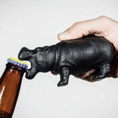 Hippo Cast Iron Bottle Opener #BottleOpener, #Cool, #Iron