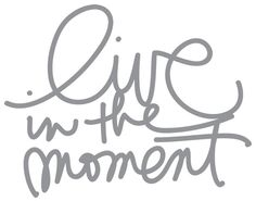 In the moment tattoo?