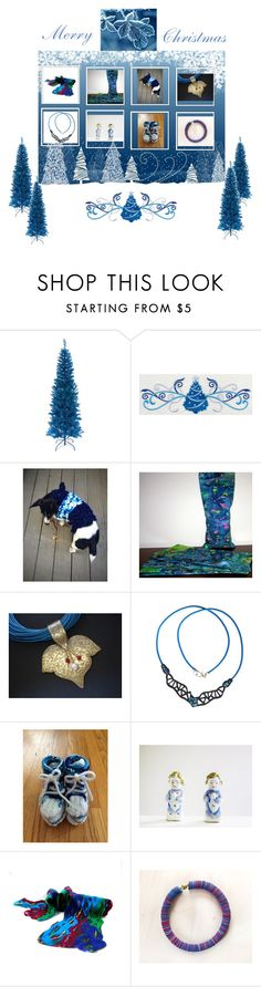 """Happy New Year!"" by therusticpelican ❤ liked on Polyvore featuring Tree, Corgi, modern, contemporary and vintage"