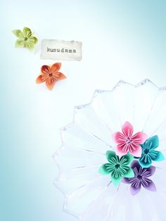 DIY Origami Kusudama Flowers