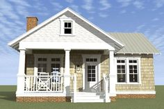 Cottage floor plans selected nearly ready-made house plans by leading architects and house plan designers. Cottage house plans can be customized for you. Br House, Tiny House Living, Cottage Living, Coastal Cottage, Coastal Homes, Cottage Homes, House Floor, Bungalow House Plans, Small House Plans