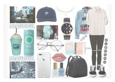 """""""Going to school ootd~"""" by adnqmu on Polyvore featuring mode, The Ragged Priest, rag & bone, ncLA, Humble Chic, Lime Crime en Lauren B. Beauty"""