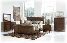 Ashley furniture King/ CalKing Kenwood Platform bed - $853 bed only