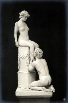 Lebende Marmor Bildwerke c. 1908