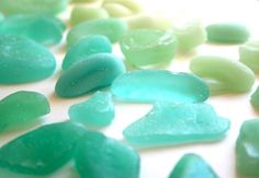 Edible sea glass! DIY wedding favors or cake toppers. From The Green Bride.