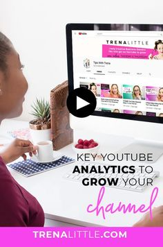 If you aren't sure how to read your YouTube analytics, this video was made just for you. I walk through a basic YouTube analytics guide so you can understand YouTube analytics, know how to find your traffic sources and audience retention to help grow your YouTube channel. #youtubetips #videomarketing Marketing Software, Marketing Tools, Social Media Marketing, Marketing Ideas, Content Marketing, Digital Marketing, Youtube Vloggers, Youtube Website, Pinterest Marketing