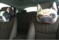 Nice idea for 3D Cat & Dog - Pillows  Shock the police or protect your car!