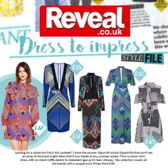 Here at Liquorish we have been loving Geometric prints and pretty ruffles, and clearly we're not the only ones! Reveal Magazine have f...