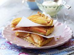 Leichte Kuchen-Rezepte: Apfeltarte