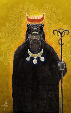 Slavic Pagan Mythology Art by Maxim Sukharev