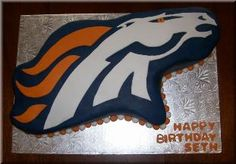 Denver Broncos On Pinterest Denver Broncos Cake Denver