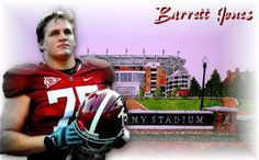 Barrett Jones - A great young man with a lot of heart!