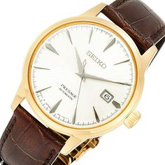 SARY126 Seiko Presage Watch Seiko Presage, Seiko Automatic, Stainless Steel Case, Jdm, Omega Watch, Watches For Men, Jewels, Leather, Stuff To Buy
