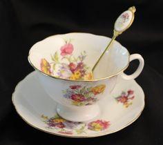 Tea Party at Audrey's ~ Vintage Tea  by Barbara J on Etsy