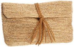 Buji Baja Women's Raffia Crochet Crossbody Clutch , Natural/Taupe, One Size Buji Baja http://www.amazon.com/dp/B007M6J2H2/ref=cm_sw_r_pi_dp_uEj9tb0563840