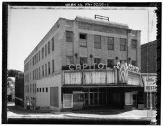 Capitol Theater Pottsville, PA LOC image140789pv.jpg (1024×791)