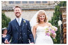 Leaving the church Mr & Mrs. Norfolk Wedding Photographer. www.jameskphoto.co.uk