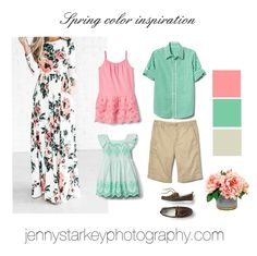 County Family Photographer Spring Photo Session Inspiration What to wear for family photos- Spring color inspirationWhat to wear for family photos- Spring color inspiration Summer Family Portraits, Spring Family Pictures, Family Pictures What To Wear, Family Portrait Outfits, Spring Photos, Family Posing, Beach Pictures, Family Photography Outfits, Clothing Photography