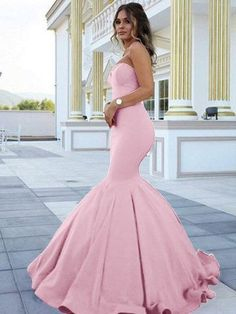 Online shopping for Straps Mermaid Long Prom Dresses for Women Evening Gowns. It's Safe Payment and Worldwide Shipping. Mermaid Sweetheart, Mermaid Gown, Mermaid Prom Dresses, Bridesmaid Dresses, Wedding Dresses, Elegant Dresses, Cute Dresses, Formal Dresses, Formal Wear