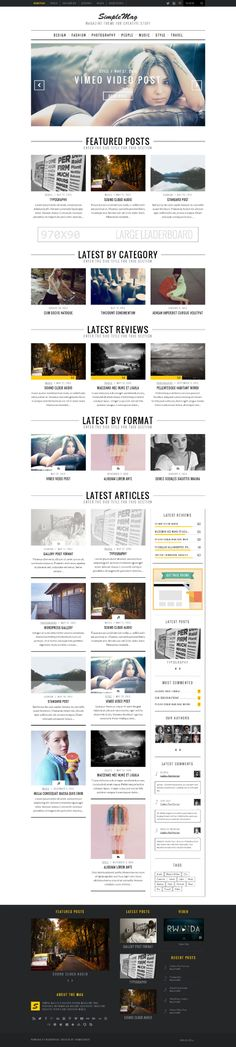 #concept, layout, clean