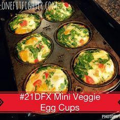 #21DFX recipes,  21 day fix recipes, egg recipes, how to make egg muffins
