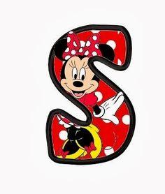 Original alfabeto de Minnie. | Oh my Alfabetos!