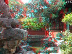 3D Images - Yu garden