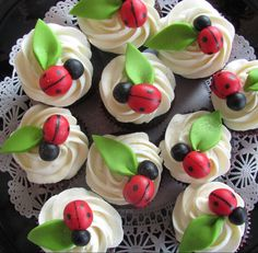 bug cupcakes - Google Search