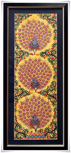 MADHUBANI PAINTING by indiaartgallery | Paintings | Indiebazaar