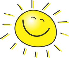 graphic of a smiling sun
